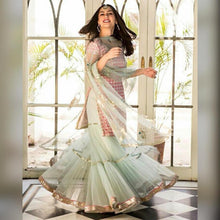 Multi-colour New Trendy Indian Lattest Designor Embroiderey Ethnic Wear Salwar Suit