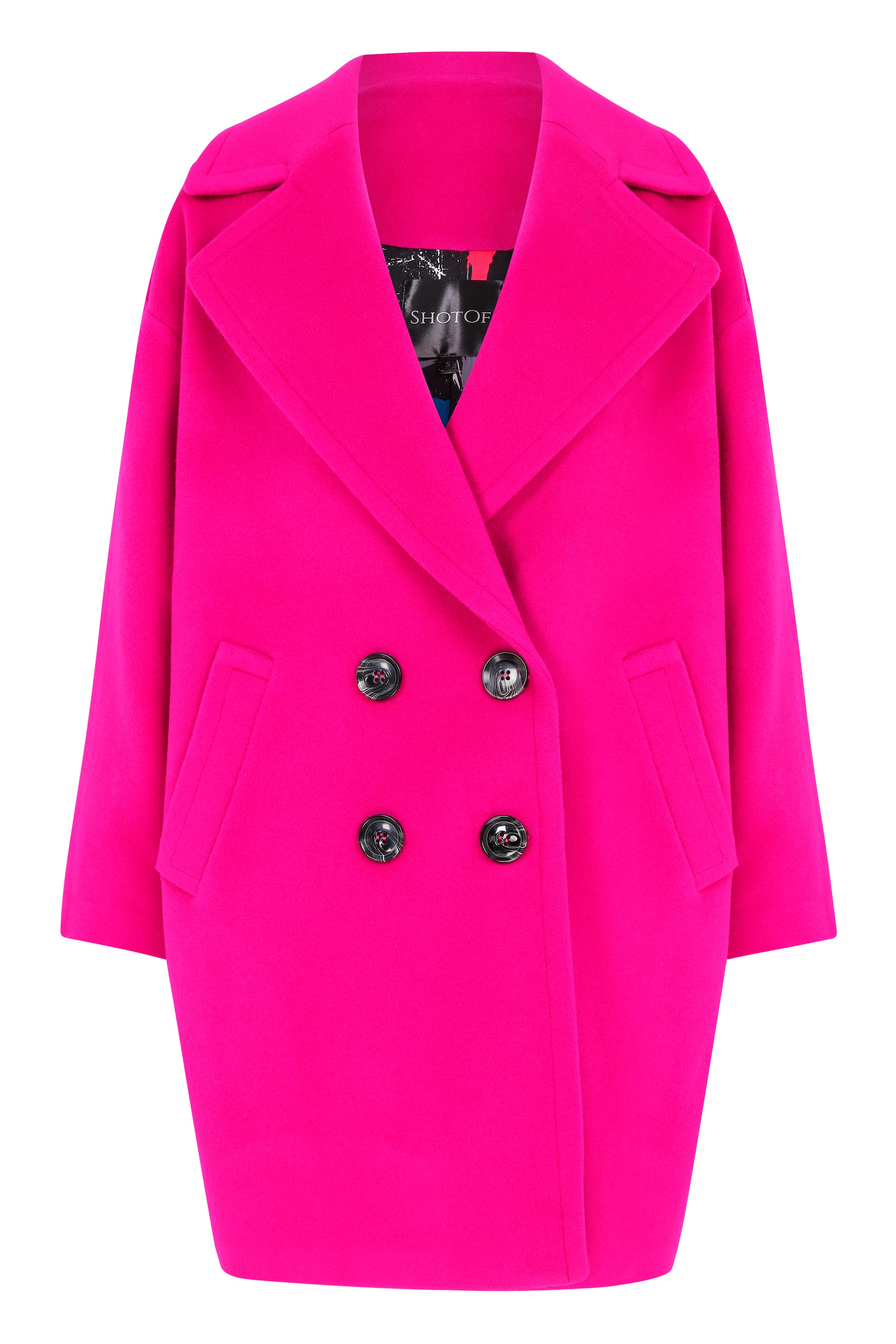 Mori Rose Cole Cashmere & Wool Coat - Shotof