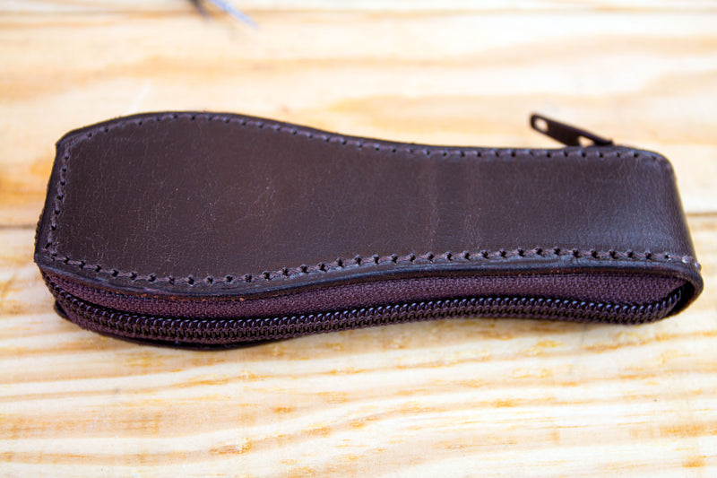 Hand-made artisan leather watch pouches!