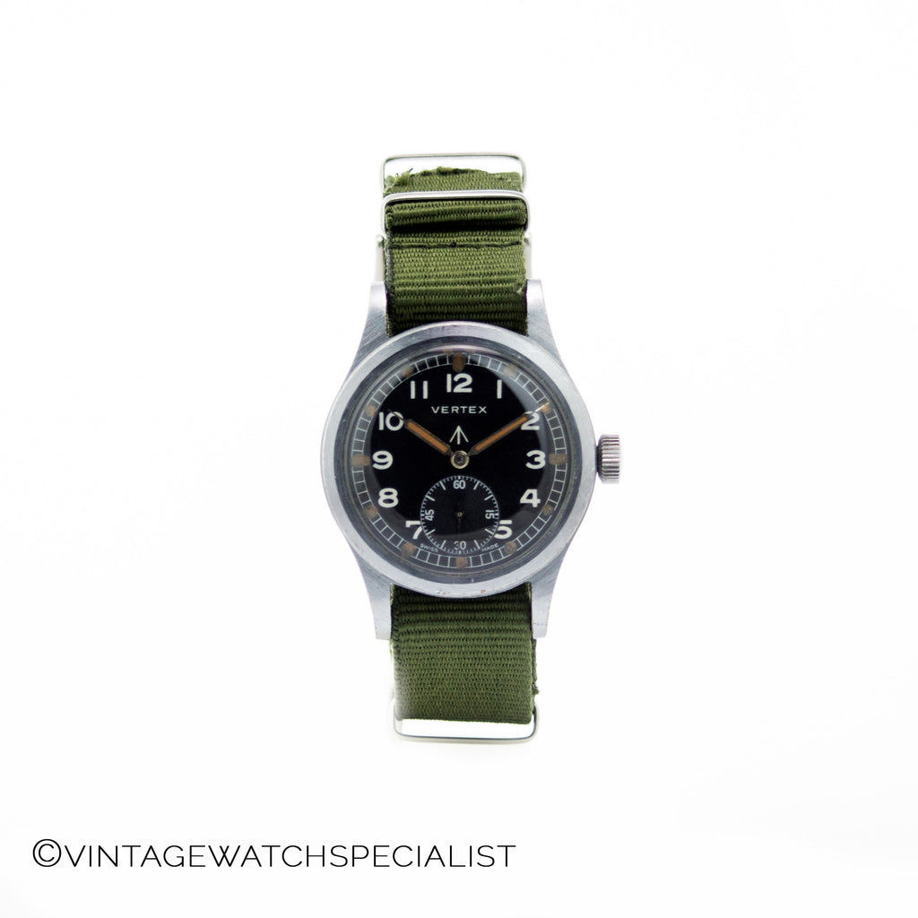 WWW VERTEX WW2 MILITARY WATCH, CALIBRE 59- 15 Jewels