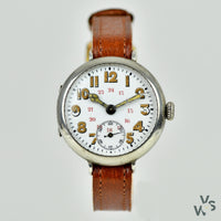 1910s Trench Watch - Tropical 'ATP'-Style dial - Vintage Watch Specialist