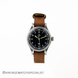 "Omega 1953 ""Fat Arrow"" RAF-Issued Wrist Watch Ref. 2777-1-SC"