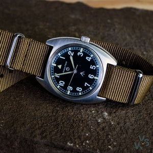 1975 Hamilton 6BB Hacking Seconds RAF Military watch - Vintage Watch Specialist