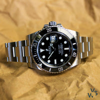 2013 Rolex Submariner Date 116610LN with box and papers - Calibre 3135 - Vintage Watch Specialist