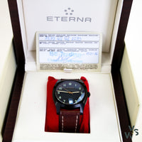 2016 Eterna Heritage Military 1939 Czech Air Force Ltd. Edition - Vintage Watch Specialist