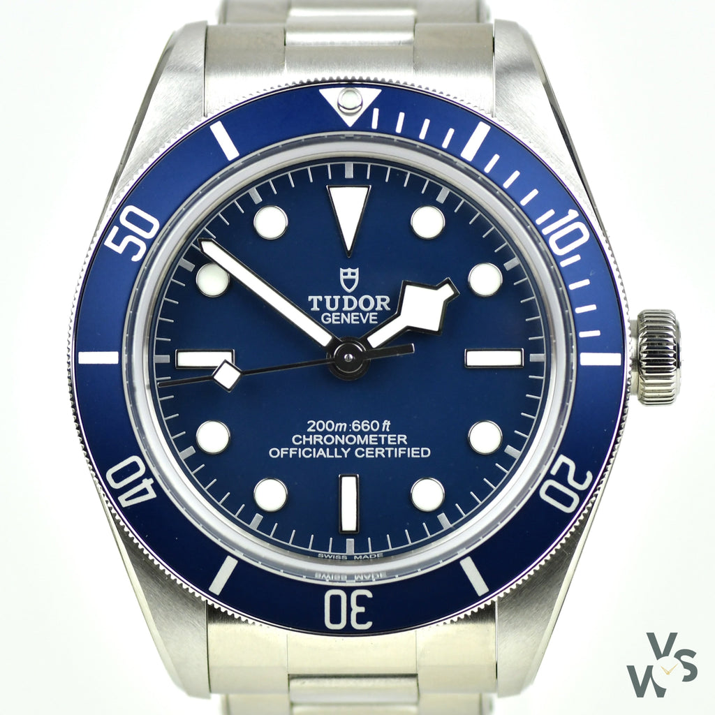 2020 Full set brand new unworn Tudor Black Bay 58 Blue Dial Ref. m79030b-0001 - Vintage Watch Specialist
