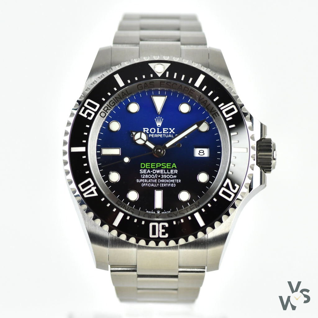 2020 Rolex Deepsea Sea-Dweller 'James Cameron' - Ref. 126660 - Vintage Watch Specialist