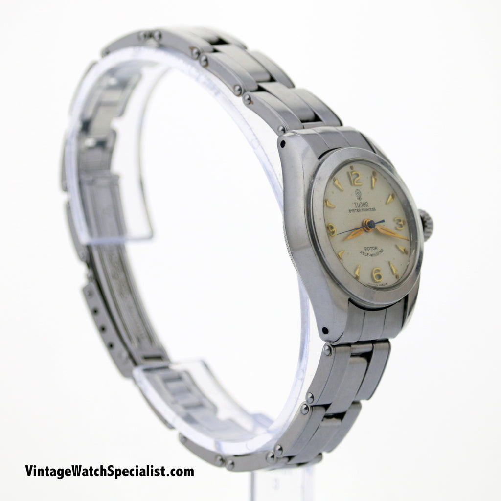 TUDOR OYSTER PRINCESS, SMALL ROSE, MODEL 7906, C 1950