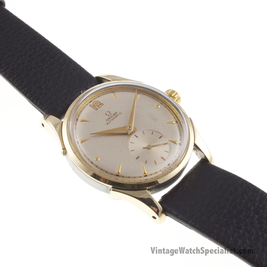 "OMEGA - AUTOMATIC ""BUMPER- Cal.342"" WATCH - GOLD & STEEL CASE  - MODEL 2636-1"
