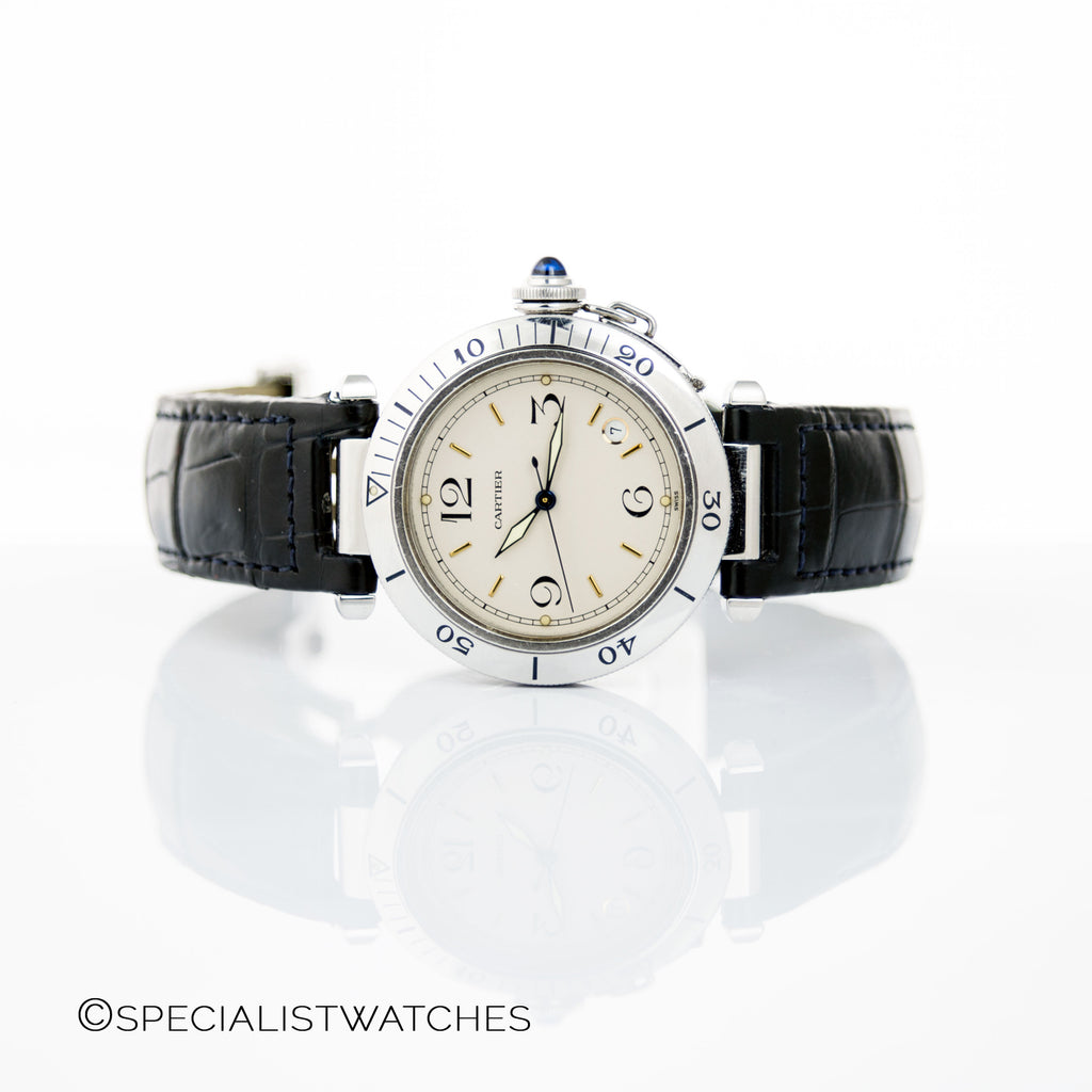 Cartier Pasha Full Sized Automatic Watch Ref.1040