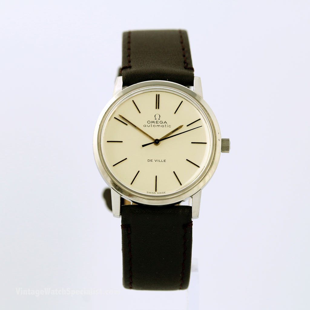 OMEGA DE VILLE AUTOMATIC, REF 165.007, CALIBRE 711 WITH 24 JEWELS