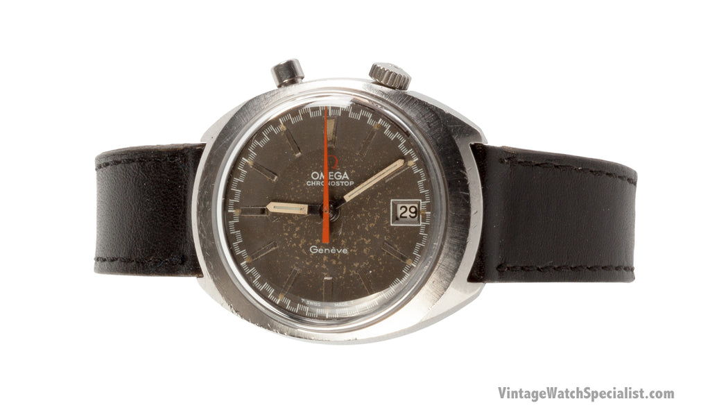 OMEGA CHRONOSTOP DRIVERS WATCH WITH DATE - 146.010 - c.1969