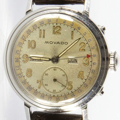 MOVADO TRIPLE CALENDAR WATCH