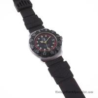 TAG HEUER F1 - BLACK-STAINLESS STEEL - MODEL REFERENCE - 371.513