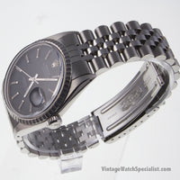 ROLEX OYSTER PERPETUAL - DATEJUST - AUTOMATIC -  MODEL 1603, CALIBRE 1570