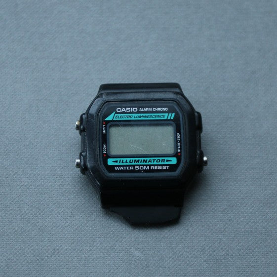 Vintage Casio Alarm Chrono Electro Luminescence Illuminator