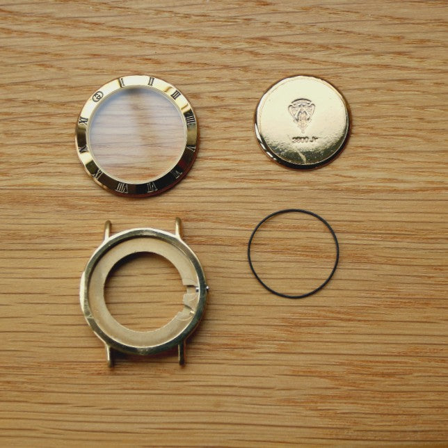 Gucci Ladies - Gold Plated Watch Case Parts - 3800 JR - 39980