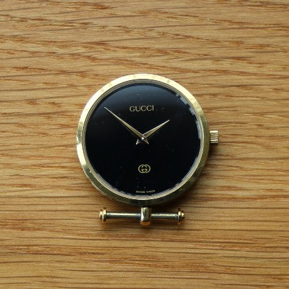 Gucci Ladies Dress Watch  - One Lug Missing - Gold Plated Case - Spares/Repairs
