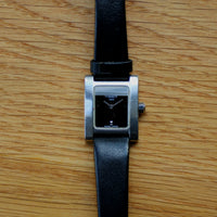 Tissot 1853 Stainless Steel on Black Leather - Model Ref. L950K - Tank Case