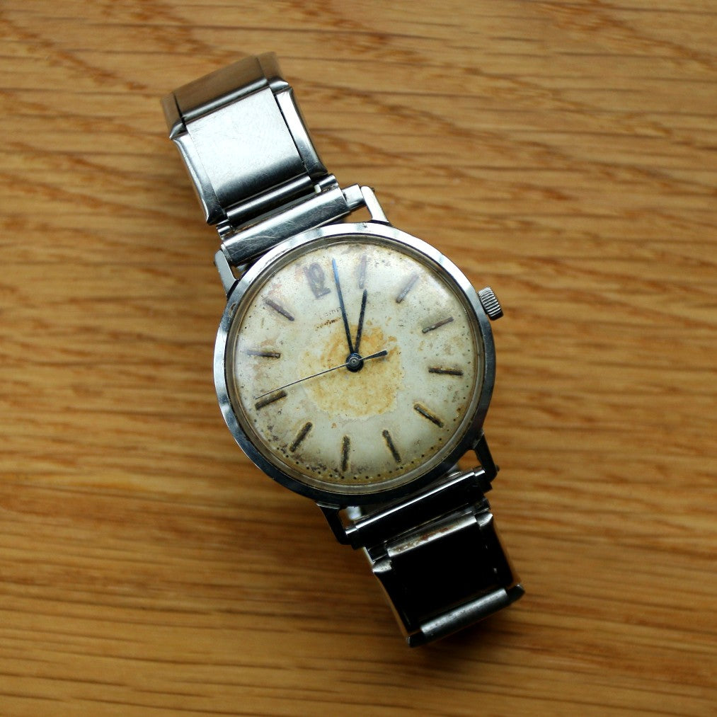 Wempe Stainless Steel Tropical Dress watch - Steel extendable bracelet - Spares/Repairs
