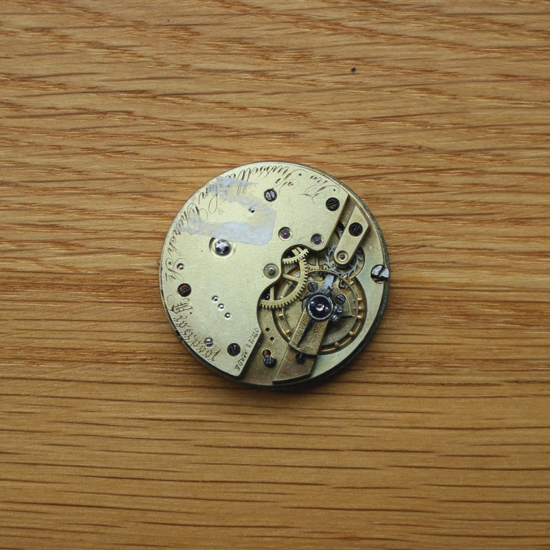 Thomas Russell & Sons Pocket Watch - Swiss movement - Spares/Repairs