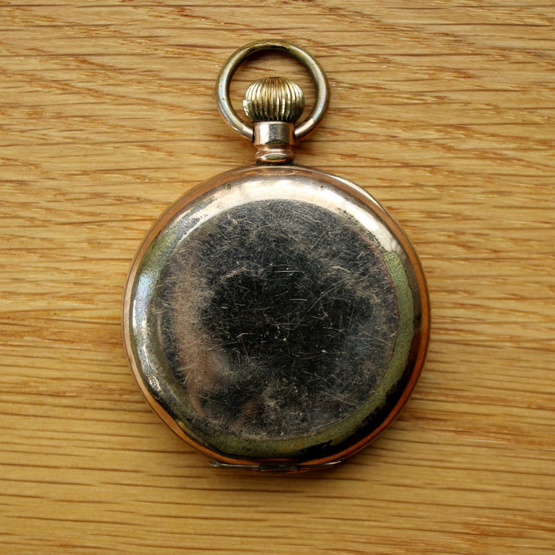 Star gold plated pocket watch - Spares/repairs