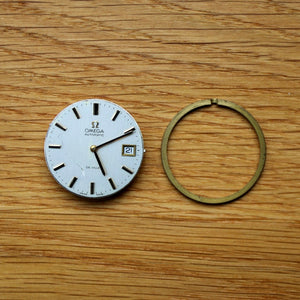 Omega Cal.1012 Automatic Movement w/ Movement Ring - De Ville dial and hands