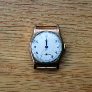 Rone Sportsmans Cal.1050 movement - Gold plated meteor case - Spares/repairs
