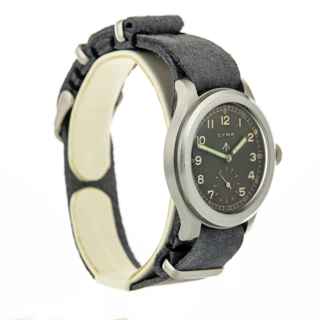 WWW Cyma Military Watch, Model P82xx 132xx, Calibre 234, 15 Jewels, c.1940