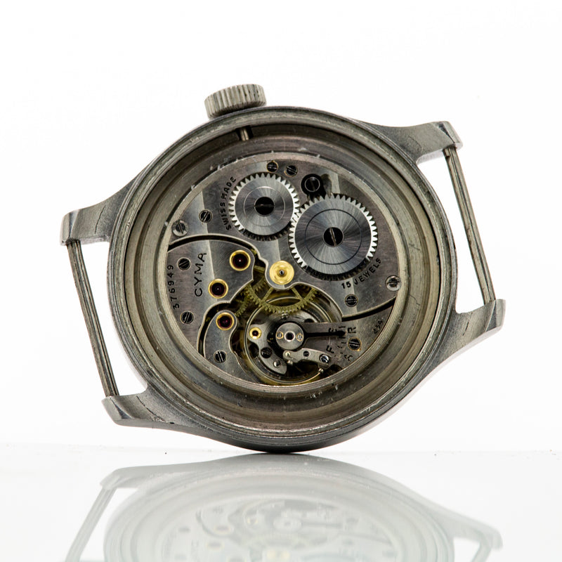 WWW Cyma Military Watch Model P82xx 132xx Calibre 234 15 Jewels c.1940 - Vintage Watch Specialist