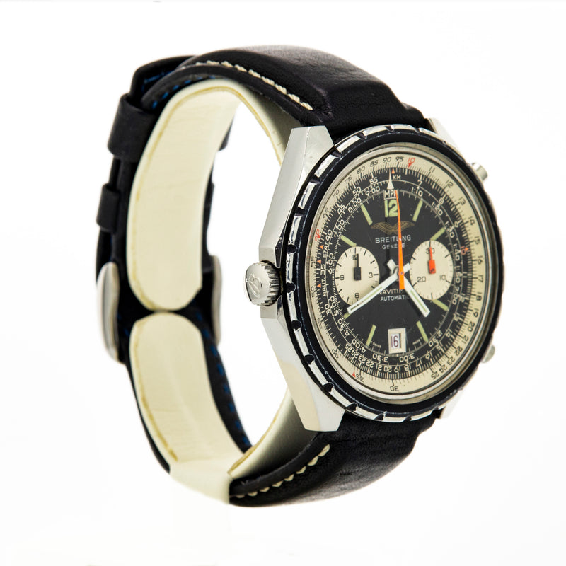 Breitling Navitimer Reference 1806 - Iraqi Air Force Issue - 1970's - Vintage Watch Specialist