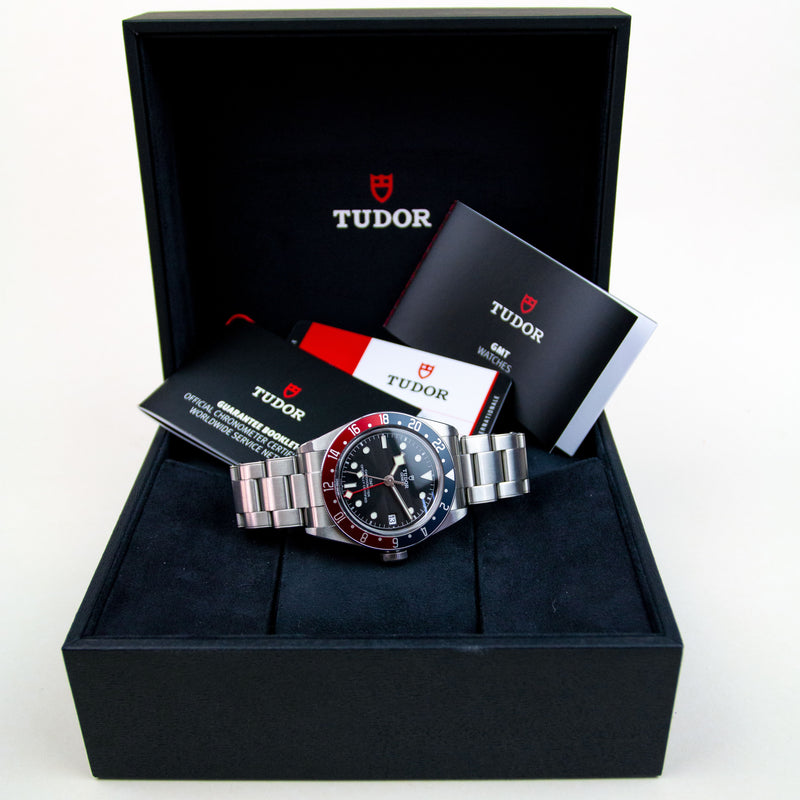 Tudor Geneve Black Bay GMT Pepsi - Ref M79830RB-0001