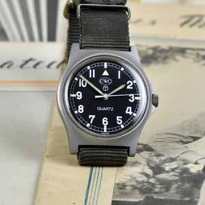 Vintage Cabot Watch Company (CWC) - G10 'Fat Boy' - RAF Military Issue Quartz Watch - 6BB/6645-99 - c.1983 - Vintage Watch Specialist