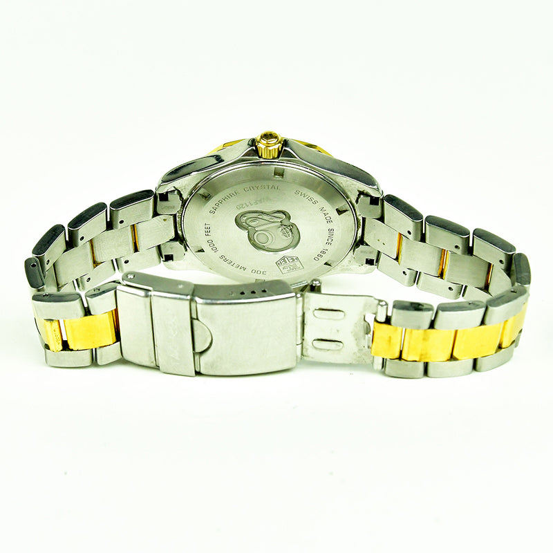 Tag Heuer Aquaracer - WAF1120 - Gold and Steel Quartz Diver's Watch - c.2008