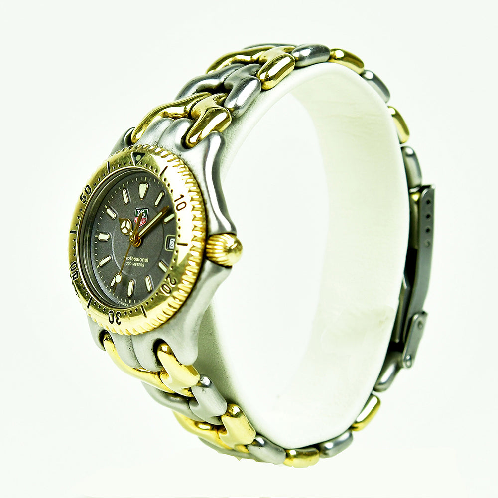 Tag Heuer - Ladies - Gold and Steel Wave - Professional 200m - WG 1320-2