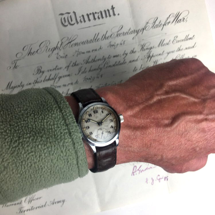 Revue Thommen Calibre 57 Army Trade Pattern (ATP) - WWII British Military Watch - c.1940