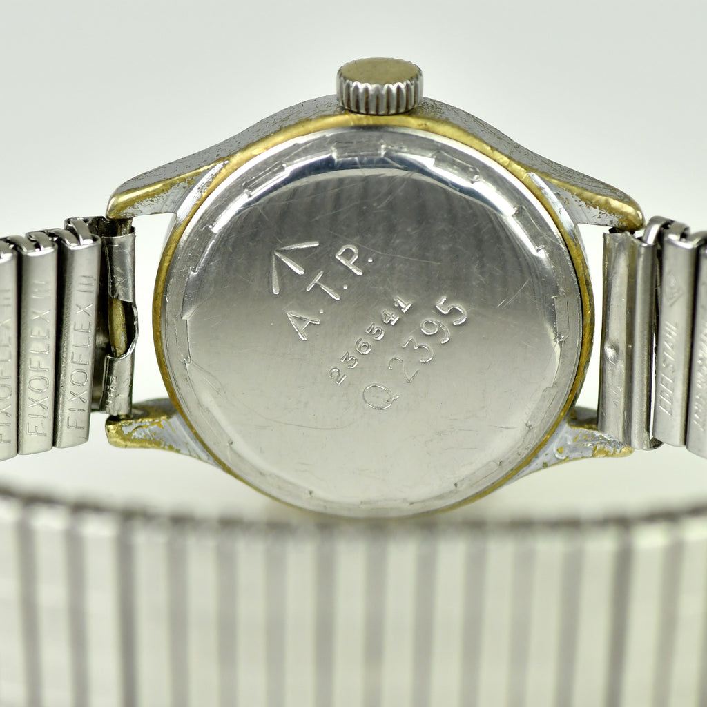 Revue Caliber 57 c.1940s ATP - Army Trade Pattern - British Army-issued WWII Watch