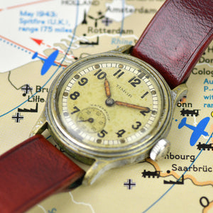 Timor 'ATP' Slotted Back (Army Trade Pattern) Military Watch – WWII British Army - Issue c.1940