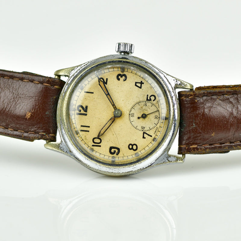 Revue Caliber 59 c.1940s ATP - Army Trade Pattern - British Army-issued WWII Watch