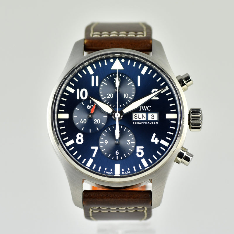 IWC Pilot's Chronograph - Le Petit Prince - Ref. IW377714 - March 2017 with Box and papers