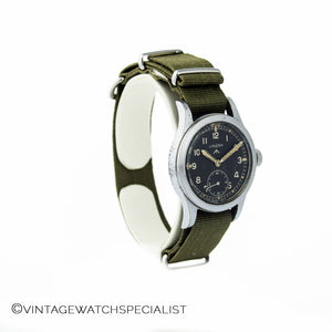 WWW Lemania Dirty Dozen Military Watch, Calibre 27A