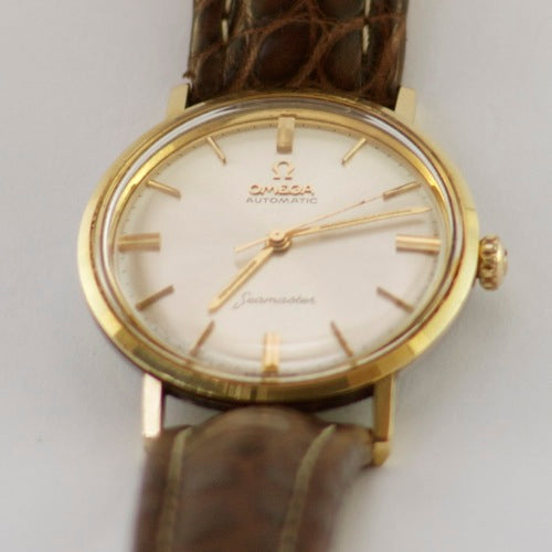 OMEGA SEAMASTER AUTOMATIC - GOLD PLATED