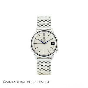 Bulova Accutron Stainless Steel White Dial
