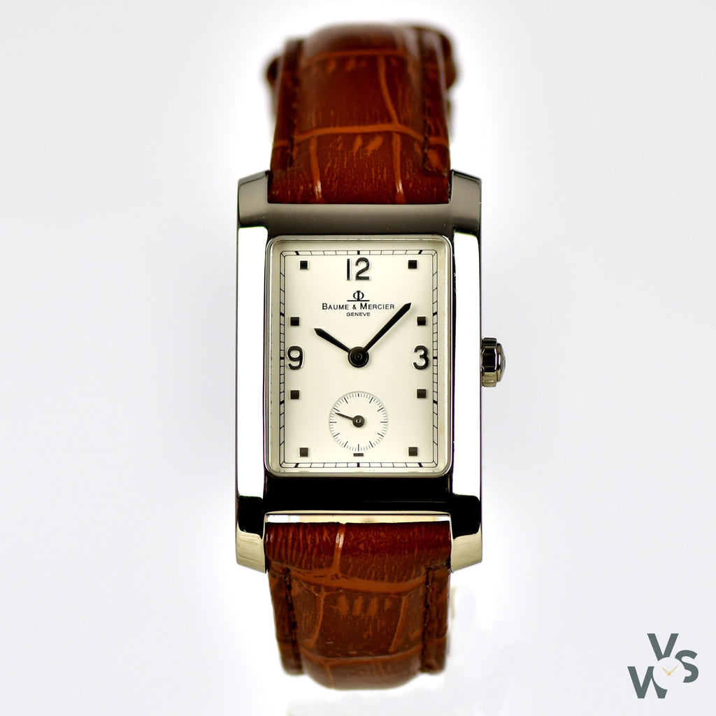 Baume and Mercier Ladies Tank Watch - Vintage Watch Specialist