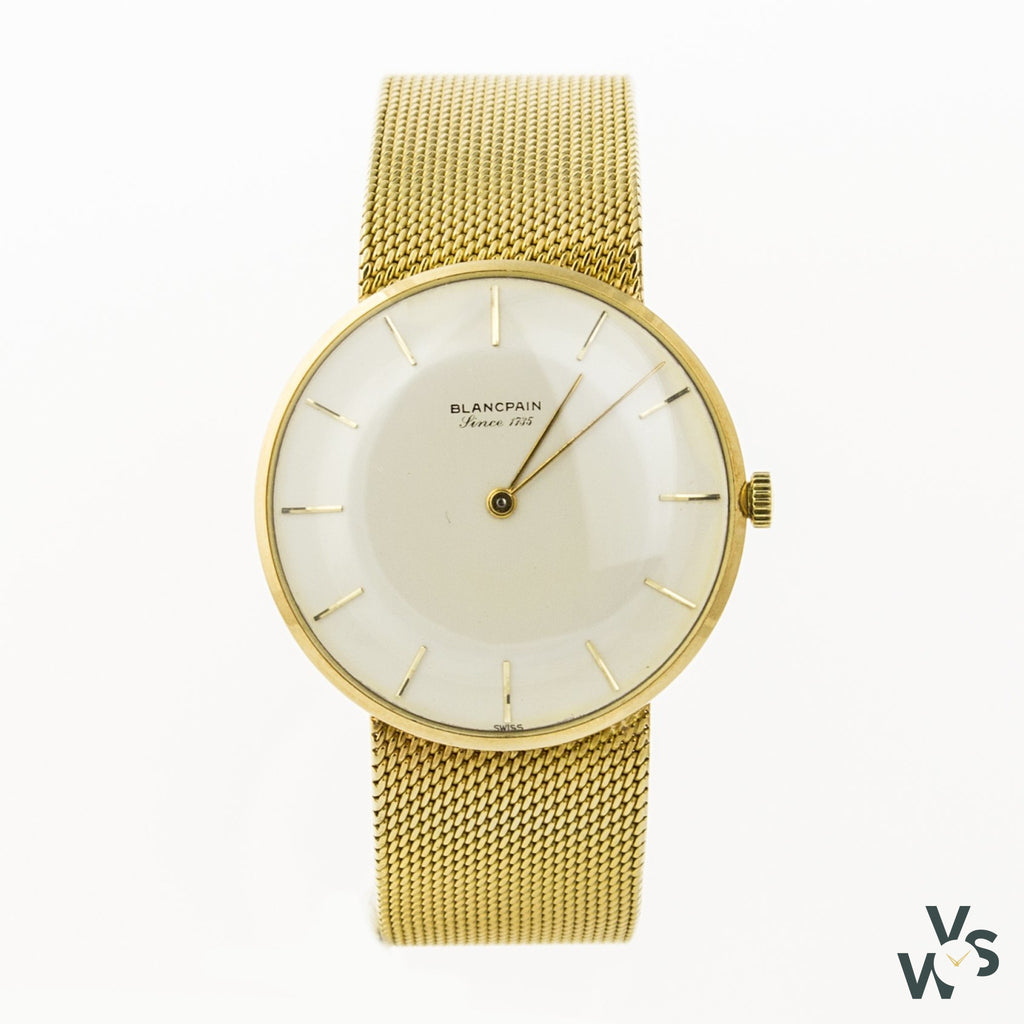 Blancpain 18K Gold Ultra Thin Dress Watch - Calibre R.530 - C1960S - Watches
