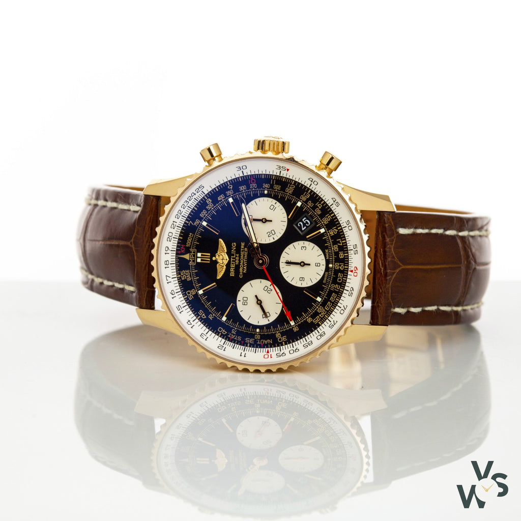 Breitling Navitimer 18K Rose Gold Rb0120 - 2012 - Vintage Watch Specialist