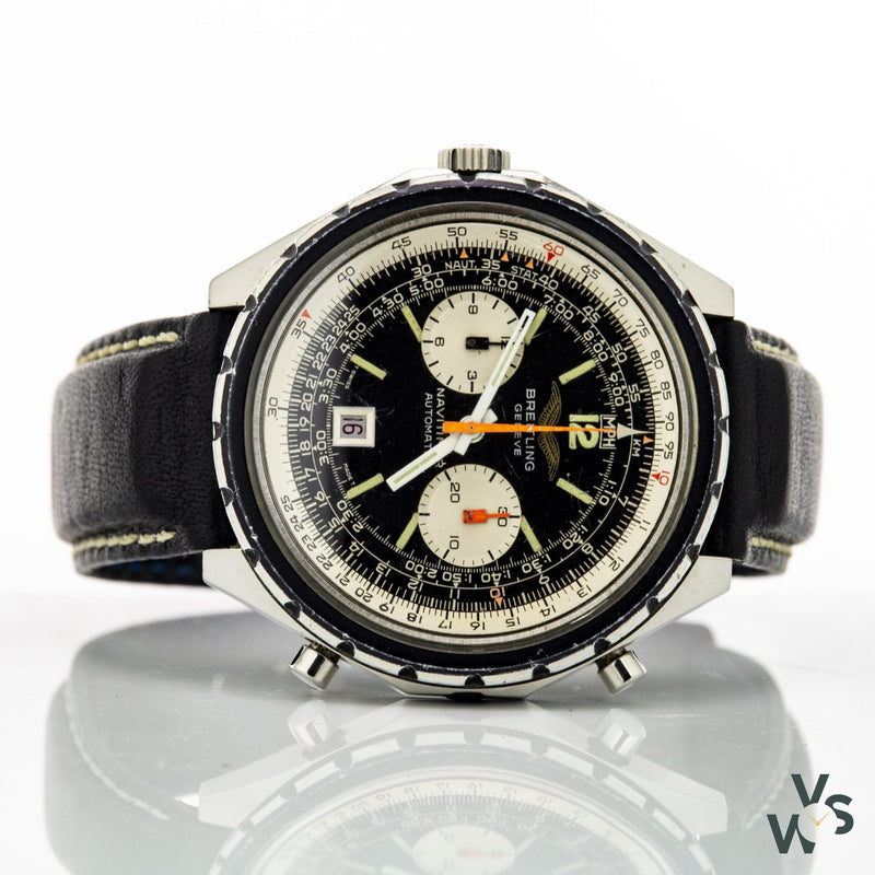 Breitling Navitimer Reference 1806 - Iraqi Air Force Issue - 1970S - Vintagewatchspecialist