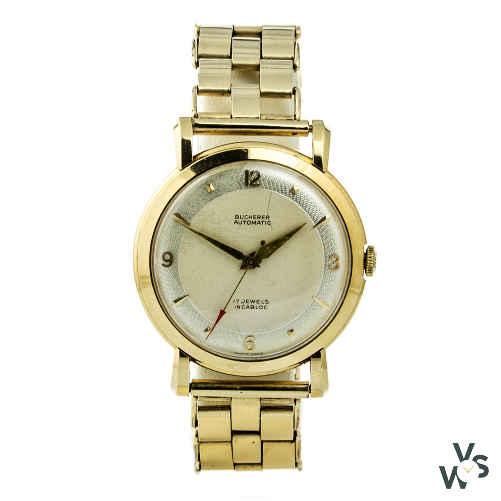 Bucherer Lucerne 18K Gold Dress Watch - Watches
