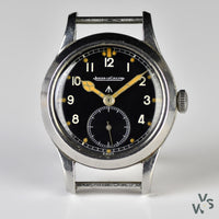 c.1944 - Jaeger LeCoultre WWW 'Dirty Dozen' - WWII British Army-Issued Military Watch - Vintage Watch Specialist