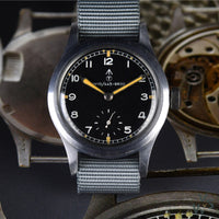 c.1944 Record WWW 'Dirty Dozen' - NATO Dial WWII British Army-Issued Military watch - Vintage Watch Specialist